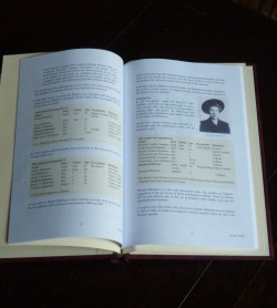 Sample pages from a family history gift book researched and written by Ellen Collier